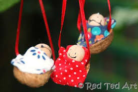 crafts traditional walnut babies ted s