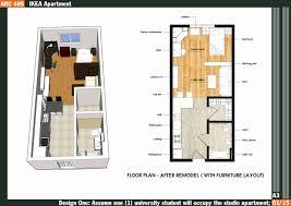 500 square feet apartment floor plan 400 square foot house plans elegant 500 square feet apartment floor