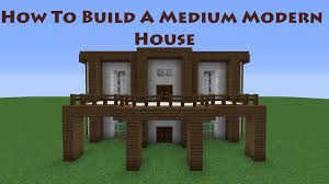 Modern House Minecraft How To Build A Modern House In Minecraft Tut 3 Youtube