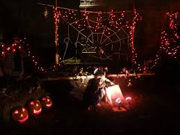 halloween decorated house era fey gossips halloween