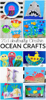 25 fabulously creative ocean crafts ocean kids crafts ocean