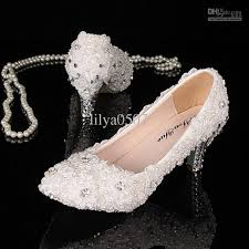 wedding shoes low heel pumps 2013 new white lace rhinestone low heels pumps lace pearl wedding
