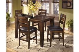 ashley dining room furniture set ashley counter height dining table u0026 chairs set d442 32 oc