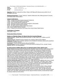 network security administrator resume sql manager it information