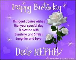 birthday cards for nephew 42 birthday wishes for nephew