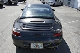 vinyl porsche porsche 911 carbon fiber roof hardtop vinyl wrap miami florida