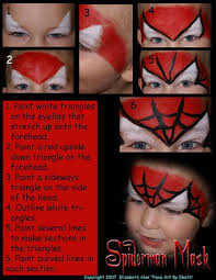 the 25 best face painting spiderman ideas on pinterest