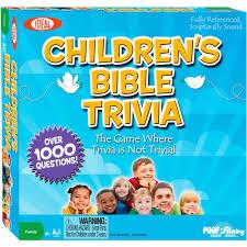 ideal children u0027s bible trivia game walmart com