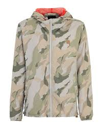 bench maxine camo print jacket in natural for men lyst