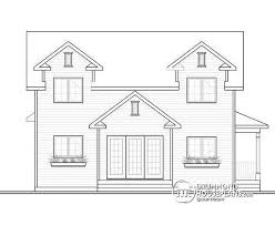 open house plans with large kitchens house plan w3721 detail from drummondhouseplans com