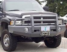 heavy duty winch bumpers for 1994 2002 dodge ram trucks