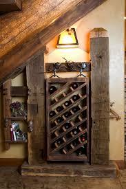 diy wooden wine racks rustic wine cellar ideas old beams diy