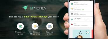 etmoney money manager for spends mutual funds investments