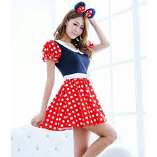 Mickey Mouse Costume Halloween Cute Mickey Mouse Fancy Dress Costume N9650