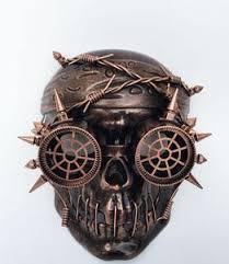 mardi gras skull mask steam pirate skull mask mardi gras creations