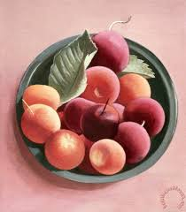 tomar levine bowl of fruit painting bowl of fruit print for sale