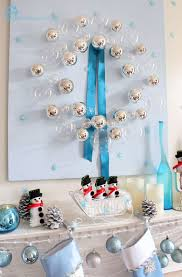 Blue And White Christmas Decorations Ideas by Remodelando La Casa November 2012