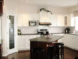 kitchen white wooden kitchen cabinet and yellow backsplash