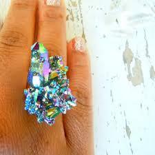 blue rock rings images Shop raw rock rings on wanelo jpg