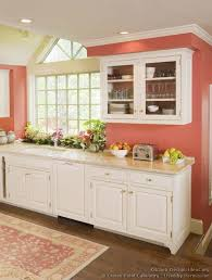Wall Kitchen Cabinets With Glass Doors Pink Painted Kitchen Cabinets U2013 Quicua Com