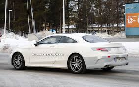 2018 mercedes s class coupe is also having some work done