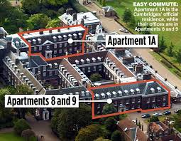 where do prince william and kate live royal trio annex rooms where princes grew up for their charity