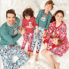 vintage matching family pajamas canada