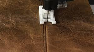 Upholstery For Dummies How To Sew With Leather Or Vinyl Youtube
