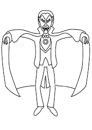 free vampire coloring pages print coloringstar