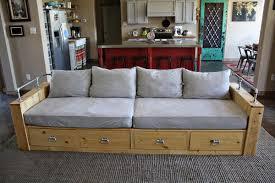 Design A Sofa Ana White Modern Wood Storage Sofa Diy Projects