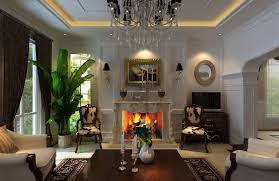 living room living room ceiling lighting with european style