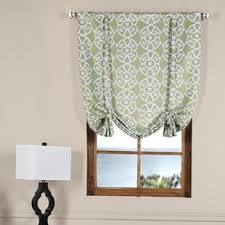 Tie Up Curtain Shade Tie Up Shades You Ll Wayfair
