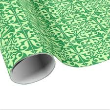 moroccan wrapping paper mint moroccan wrapping paper zazzle
