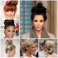 ponytail bun hairstyles ponytail bun hairstyles hairstyles medium