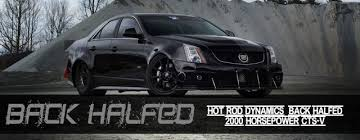 build cadillac cts rod dynamic s record setting back halfed cts v