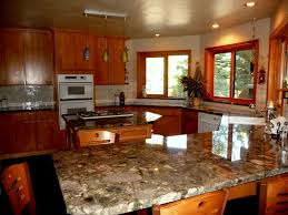 granite countertop honey kitchen cabinets backsplash ottawa
