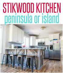 peninsula island kitchen stikwood kitchen peninsula infarrantly creative