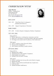 resume template sle tandard resume template standard resume template 15 standard