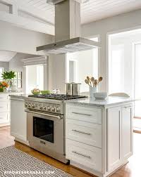 stand alone kitchen islands kitchen island with freestanding stove transitional kitchen