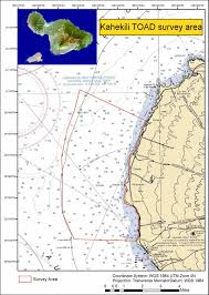 Map Of Coral Reefs Researchers Survey A High Priority Coral Reef Area Off Maui Noaa