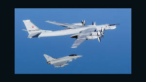 why is russia sending bombers close to u s airspace cnn