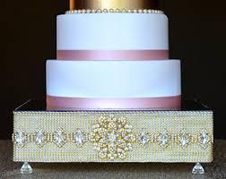 bling cake stand etsy