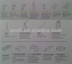 ceiling grid components type hanger wire rod suspended ceiling