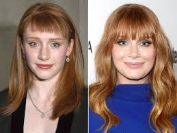 sissy hair dye story bryce dallas howard before and after beautyeditor