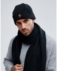 shop men u0027s original penguin hats from 10 lyst