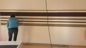 wohnzimmer streichen muster wohnzimmer streichen streifen bequem on moderne deko ideen in