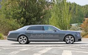 custom bentley mulsanne bentley mulsanne lwb spied testing with new front end