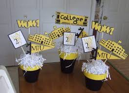 Homemade Graduation Party Centerpieces by Homemade Graduation Party Decoration Homemade Graduation