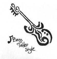 Bass Guitar Tattoo Ideas Tattoos For Bass Players Google Search My Books Dream Catcher