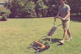 benefits of push reel mowers the art of manliness